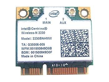 Intel 2230 2230bn_hmw Half Mini Pci-e Wireless WLAN WiFi Card Bluetooth Module 802.11 B G N