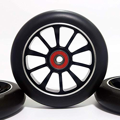 Z-FIRST Replacement 110mm Pro Scooter Wheel with ABEC 9 Bearings Fit...