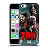 Head Case Designs Officially Licensed AMC The Walking Dead Characters Season 10 Key Art Soft Gel Case Compatible with Apple iPhone 5c