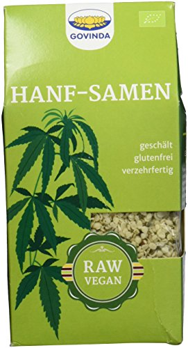 Govinda Hanfsamen, 1er Pack (1 x 150 g Karton) - Bio