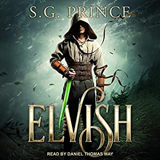 Elvish audiobook cover art