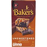 Baker's Unsweetened Baking Chocolate Squares, 4 Ounce (Pack of 12)