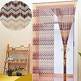 Rideau de perles, rideau de porte anti-moustiques, rideau de séparation, rideau de porte à domicile, adapté for la décoration partition chambre d'entrée salon perles de cristal rideau suspendus