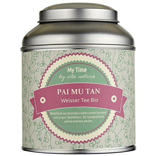 My Time Pai Mu Tan, Weißer Tee First Flush Bio, 1er Pack (1 x 65 g)
