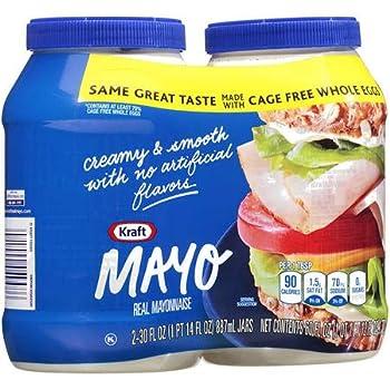 Kraft Real Mayo 30 fl oz Jar  4jars