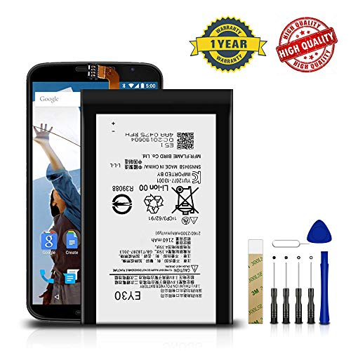 for T-Mobile Motorola Moto X 2nd Gen XT1095 / XT1093 Replacement Battery EY30(SNN5945A) Free Adhesive Tool