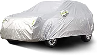 KTYXDE Car Car Cover Indoor and Outdoor Thick Oxford Cloth Anti-fouling Sun Protection Rain Warm Cover for Subaru Outback Car Models Car Cover (Size : 2017)