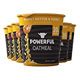 ✔️INSTANT BREAKFAST: Our Powerful Instant Oatmeal cups are great for on-the-go use and already sweetened with high protein for a satisfying whole grain taste ✔️DELICIOUS: Our hot and fit oatmeal has super food grains plus peanut butter & honey that p...