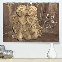 Engel - Die Worte der Liebe (Premium, hochwertiger DIN A2 Wandkalender 2022, Kunstdruck in Hochglanz): 12 Engelbotschaften begleiten Sie durchs Jahr. (Monatskalender, 14 Seiten )