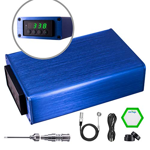Digital Temperature Controller with 20mm Titanium kit (ice blue) Electric heaters Space