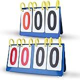 Marcador de Puntuación Marcador de Tabla Impermeable 3/4 Dígitos(4 Dígitos)