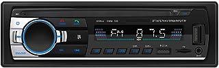 Car Radio Bluetooth Hands-Free, ESSGOO Single DIN Car Stereos with USB/AUX/TF,CAR MP3 Player,4x65W FM Radio, Support iOS a... photo