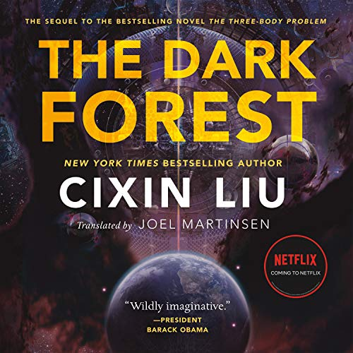 The Dark Forest Audiobook By Cixin Liu, Joel Martinsen - translator cover art