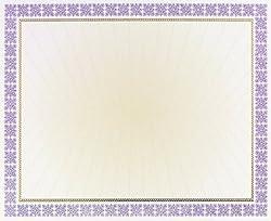 Price Pack Masterpiece Studios 963023 Westminster Purple Certificate Foil Parchment
