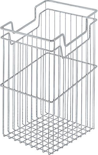 Gedotec Wasmand met ophangfunctie voor onderkasten, 23,5 liter, voor kasten, made in Germany, 1 stuks Stabiele kastmand. Fassung: 29 Liter Verchroomd staal, glanzend.