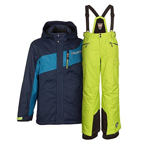 Killtec Herren Skianzug Skijacke + Skihose Farb- und Größenwahl (Navy, XL)