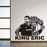 Jugador de fútbol Etiqueta de la pared Dormitorio Niños Habitación Fútbol...