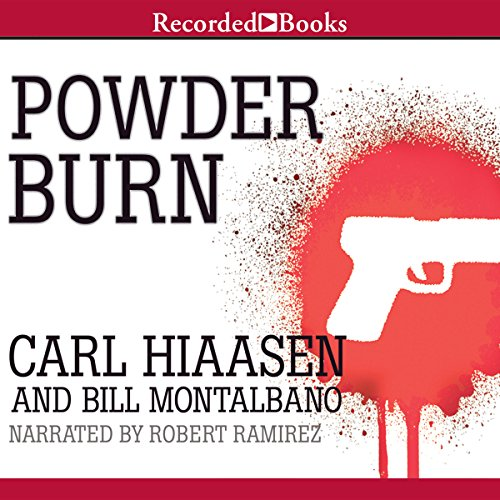 Powder Burn audiobook cover art