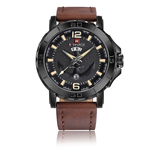 NAVIFORCE Reloj de Pulsera Reloj para Mombres 3ATM...