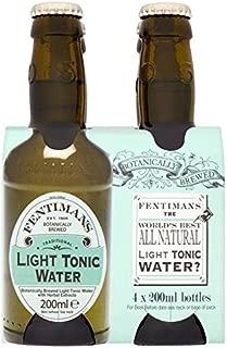 Fentimans Botanically Brewed Light Tonic Water - 4 x 200ml (27.05fl oz)