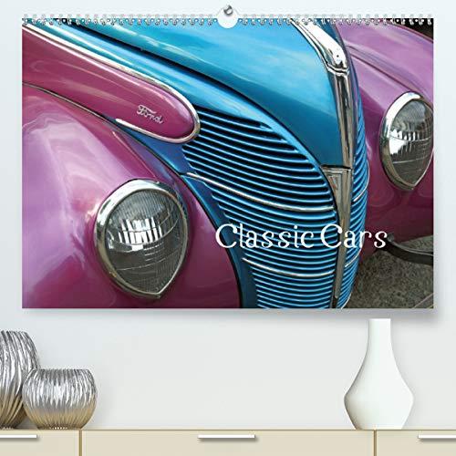 Classic Cars (UK-Version) (Premium-Calendar 2021 DIN A2 Landscape)