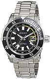 Gant Herren-Armbanduhr Pacific Analog Quarz Edelstahl W70641