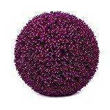LXLTL Planta Planta Artificial, Topiary boj Bola Decorativa Bola de la Hierba Verde del Globo para la Boda de Compras Plantas y Flores Artificiales,D,60cm