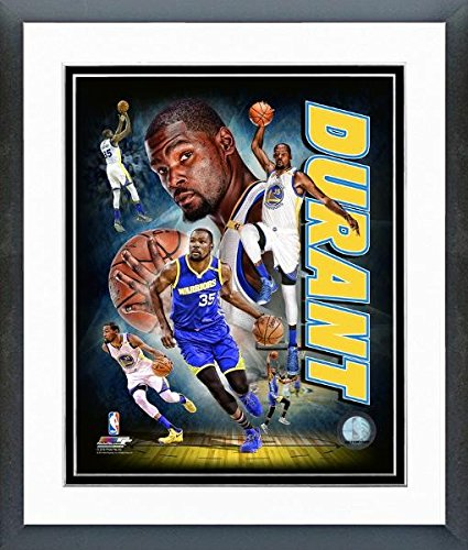 NBA Kevin Durant Golden State Warriors 2016 Portrait Plus Photo (Tamaño: 12.5 x 15.5 Pulgadas) Enmarcado