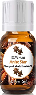 Anise Star Essential Oil for Diffuser & Reed Diffusers (100% Pure Essential Oil) 10ml