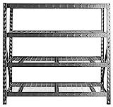 77' Wide Heavy Duty Rack with Four 24' Deep Shelves