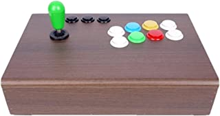 MDF Arcade Joystick for PC & PS3, USB Wired (Brown)