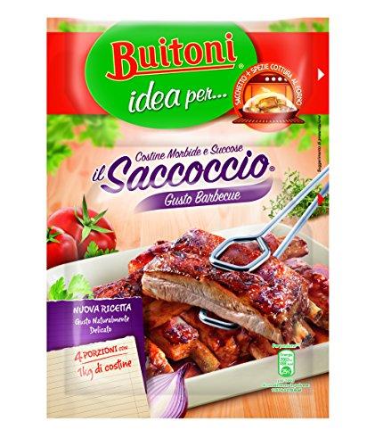 IL SACCOCCIO GUSTO BARBECUE Sacchetto e spezie per costine al forno 1 pezzo