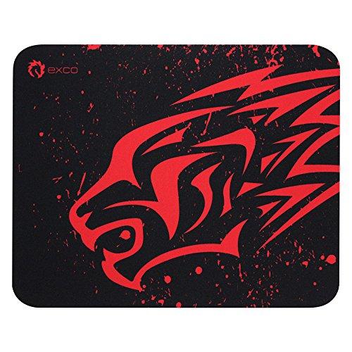 EXCO Gaming Mauspad - 280×220 mm-rutschfest - Mousepad mit Einer speziellen Oberfläche verbessert Geschwindigkeit und Präzision, passend für alle Arten von Maus