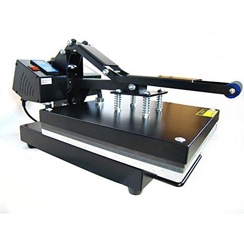 HobbyCut AA1-S Transferpresse 38cm x 38cm Textilpresse 2000 Watt Modell 2016 - 8