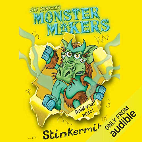 Monster Makers audiobook cover art