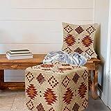 Funda de cojín de lana de yute Kilim, hecha a mano, estilo vintage, para reposapiés, de lana, yute, para sala de estar, funda de cojín de yute, estilo triangular, estilo vintage, 45 cm