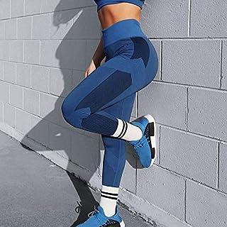 Beiziml Women Active Legging High Waist Tight Leggings Folding Fitness Stretch Folding Workout Slim Gym Leggings Solid Yog...