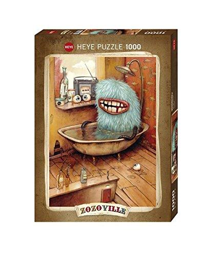 Heye 29539 - Standardpuzzle, Zozoville, Bathtub, 1000 Teile