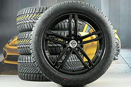 Compatible con Porsche Macan 95B.2 2019 – 19 pulgadas SPORT ruedas de invierno negras.