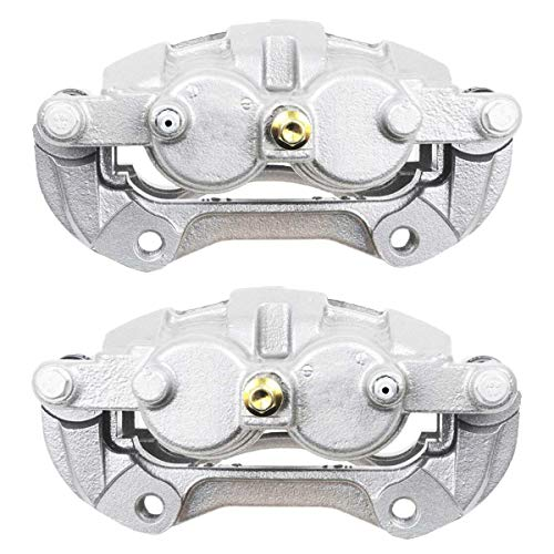 AutoShack BC3020PR Front Brake Caliper Pair 2 Pieces Fits Driver and Passenger Side