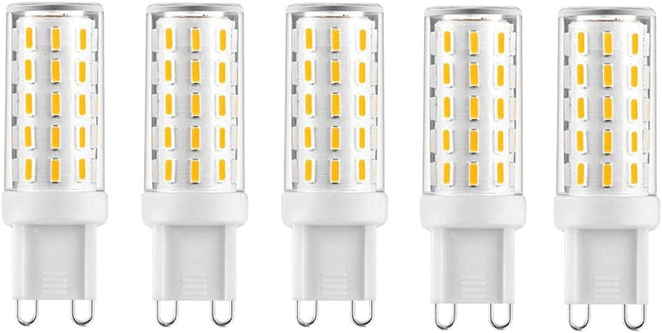 POTTBONS G9 LED 54 Beads Jacksonville Mall 4014 3 Austin Mall Color 5W Bulb Non-dimmable 500LM