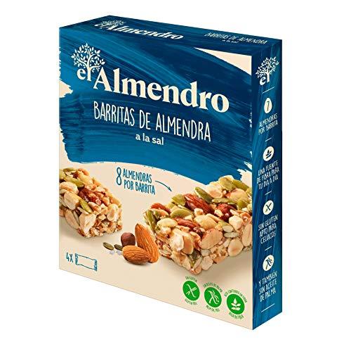 El Almendro - Barritas de Almendra a la Sal - 4x21 gr - Sin Gluten - S