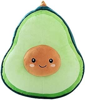 Bobody Avocado Plush Doll Soft Skin-Friendly Stuffed Plush Toy Fruit Shape Pillow
