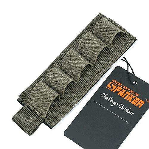 EXCELLENT ELITE SPANKER Tactical Nylon 12 Gauge Shotgun Bullet Shell...