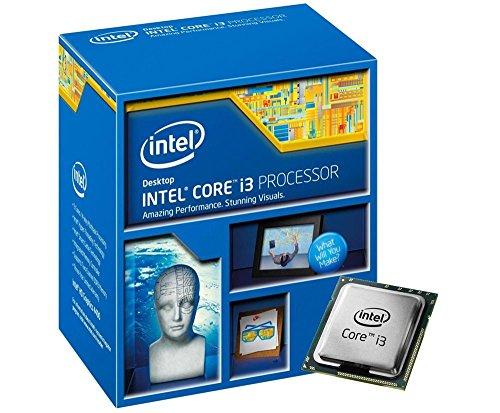 Intel 1150 i3-4160 Ci3 Box Processore da 3,60 Ghz, Nero