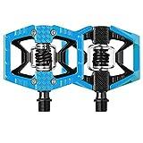 CRANKBROTHERS Doubleshot-2, Pedali Unisex-Adulto, Blu, Taglia unica