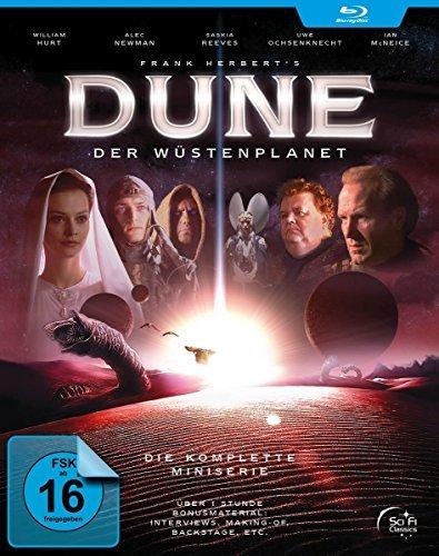 Dune - Il Destino Dell'Universo (2 Dvd) / Dune - Complete Series - 2-Disc Set ( Frank Herbert's Dune (3 Parts) ) [ Origine Tedesco, Nessuna Lingua Italiana ] (Blu-Ray)