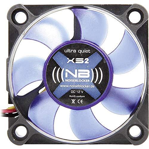 Noiseblocker XS-2 BlackSilentFan - Ventilador para PC (50 x 50 x 10 mm)