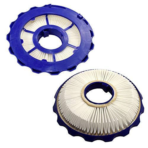 HQRP 2 Post Filtros compatible con Dyson DC40 Serie Animal Multi Floor Total Clean Origin Exclusive Light Ball Aspiradoras verticales, Parte 922676-01 DY-92267601 Reemplazo más Portavasos