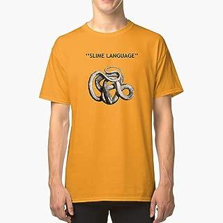 SLIME LANGUAGE Classic TShirtT Shirt Premium, Tee shirt, Hoodie for Men, Women Unisex Full Size.